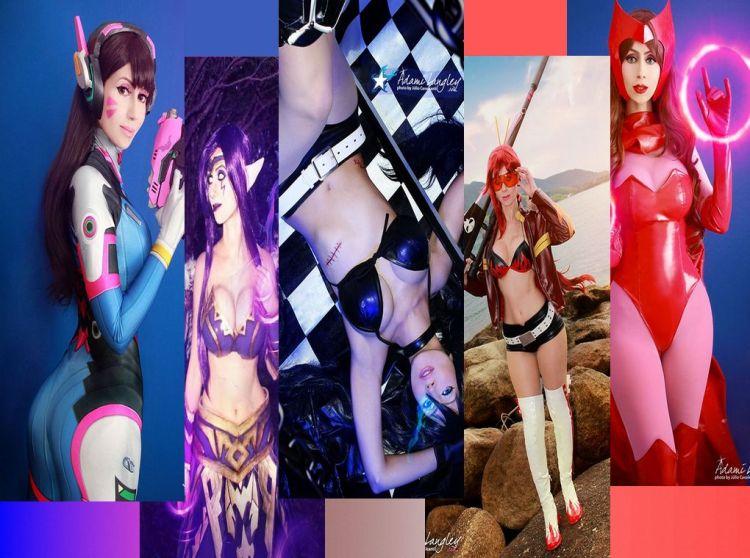 Adami Lanngley wall cosplay sexy