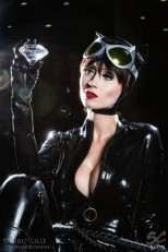 Catwoman cosplay sexy mulher gato gostosa Adami Langley