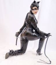 cosplay mulher gato catwoman sexy michelle pfeiffer Jaqueline Abrão gata