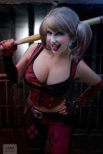 harley quinn cosplay sexy Lara Lunardi gostosa gata