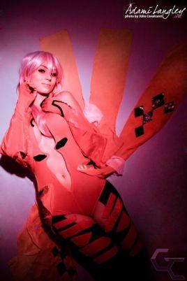inori yuzuriha cosplay sexy gata Adami Langley