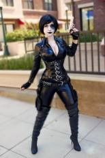 Lara Lunardi cosplay sexy gostosa Garment x-men movies x-force