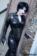 Lara Lunardi cosplay sexy gostosa Garment x-men movies x-force