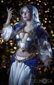 Lara Lunardi Cosplay sexy Jaina Proudmoore World of Warcraft cosplay gata