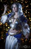 Lara Lunardi Cosplay sexy Jaina Proudmoore World of Warcraft cosplay gata