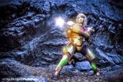 Metroi cosplay samus aran power suit sexy Lara Lunardi gata ecchi samus (8)
