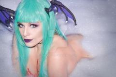 morrigan aensland cosplay Thábata Cardoso sexy gostosa