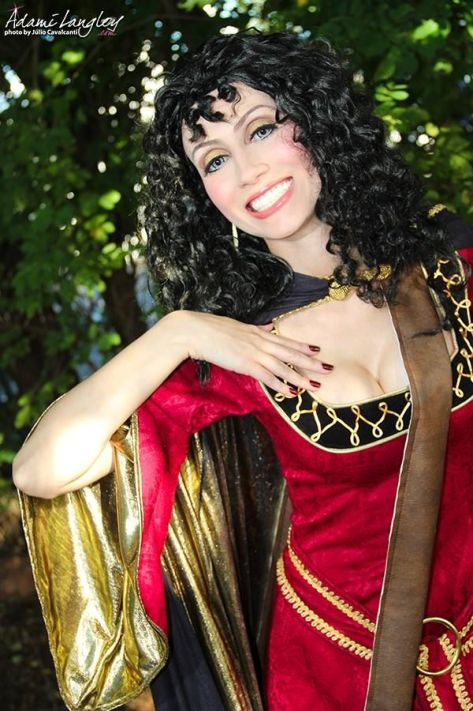 Mother Gothel Adami Langley cosplay sexy