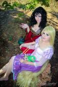 Mother Gothel Adami Langley cosplay sexy Angel Arwen Cosplays rapunzel