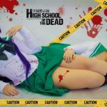 Saeko Busujima cosplay sexy Thábata Cardoso Juka Crasoves Rei Miyamoto hotd cosplays sexy