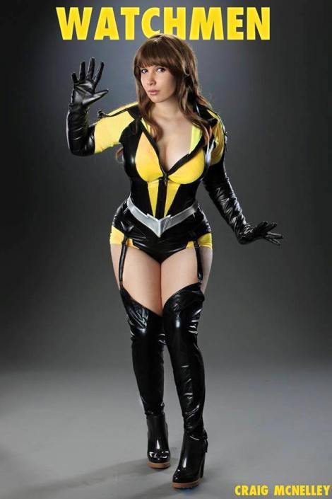 silk spectre cosplay espectral sexy cosplay lara lunardi gostosa