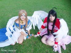 Skuld Ah megami-sama cosplay Adami Langley belldandy cosplay angel arwen sexy