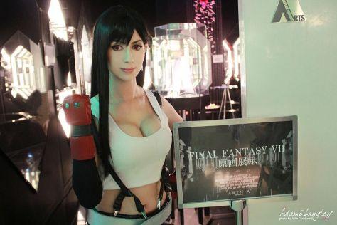 Tifa Lockhart cosplay sexy gostosa Adami Langley