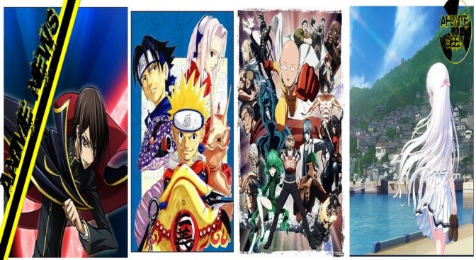 AnimeNews (3) – Nova Temporada de Code Geass e One Punch Man; Novo Filme de Naruto e Noticias de Summer Pockets nova obra dos autores de Angel Beats!