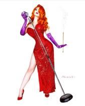 Ashlynne Dae Jessica Rabbit cosplay linda