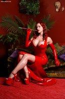 jessica rabbit cosplay Bianca Beauchamp big tits sexy
