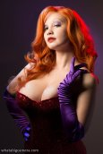 Jessica Rabbit cosplay big tits Ardella sexy