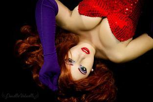 Jessica Rabbit Cosplay Danielle Vedovelli sexy
