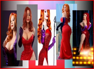 Jessica Rabbit Cosplay Wallpaper