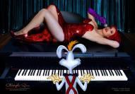 Lady Jaded jessica rabbit cosplay sexy gostosa