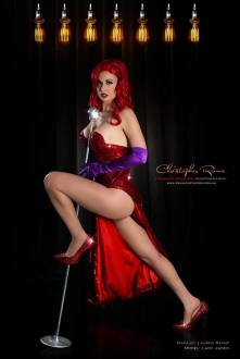 Lady Jaded jessica rabbit cosplay sexy gostosa