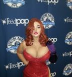 Sofia Sivan cosplay gostosa sexy Jessica rabbit big butt big boobs