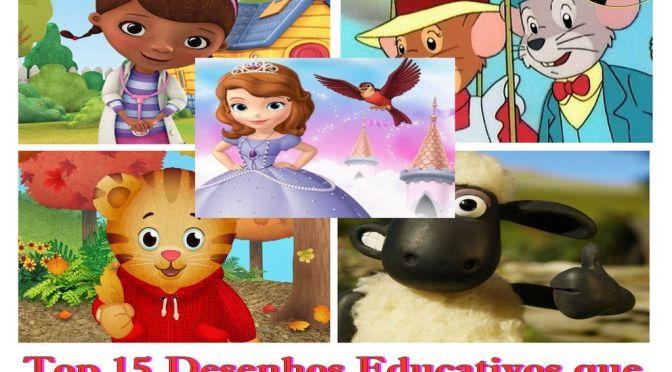 Top 15 Desenhos Educativos que até Você vai Curtir (Parte 3)