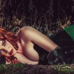 Callie Cosplay poison ivy era venenosa (1)