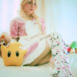 cosplay princess peach cosplay princesa sexy MolecularAgatha (3)