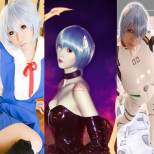 cosplay rei Ayanami wallpaper