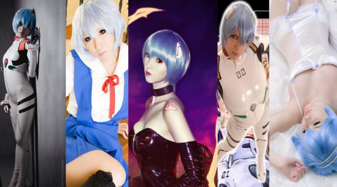 Rei Ayanami Cosplay (Evangelion) – Gata da Semana Especial
