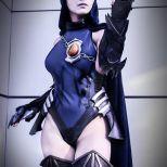 Cynthia Cos raven cosplay ravena sexy (1)