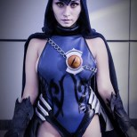 Cynthia Cos raven cosplay ravena sexy (2)