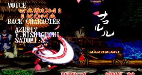 Final Verdadeiro Nakoruru Samurai Shodown II