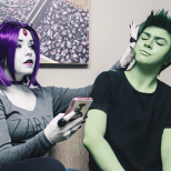 Kahsan Cosplay e Nate Cos ravena e mutan cosplay (1)