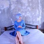 Koyuki cosplay rei sexy evangelion (7)