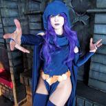 LadyLemon Cosplay raven ravena cosplay (5)