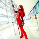 nana kuronoma sexy cosplay asuka plugsuit (1)