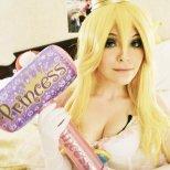 Nao-Dignity cosplay princess peach cosplay princesa sexy gostosa (1)