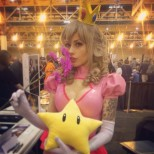Vera Bambi cosplay princess peach cosplay princesa sexy gostosa (19)