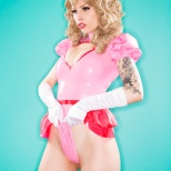 Vera Bambi cosplay princess peach cosplay princesa sexy gostosa (6)