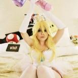 Nao-Dignity cosplay princess peach cosplay princesa sexy gostosa (3)