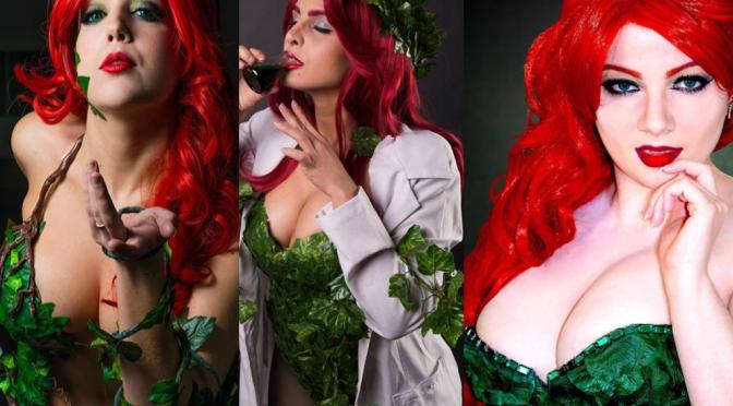 Era Venenosa (Poison Ivy) Cosplay – Gata da Semana Especial