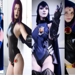 Ravena cosplay wall